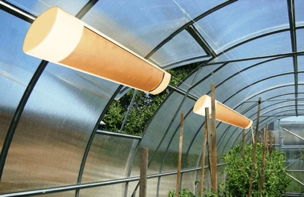 Как отапливать теплицу из поликарбоната